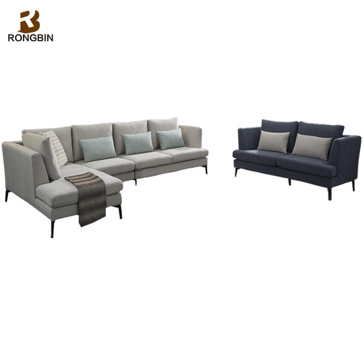 Luxury Contemporary Lounge Suite Fabric